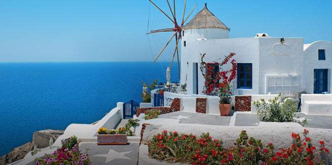 Мифическая гора Олимп, поцелуй двух морей, разноцветные пляжи Санторини…