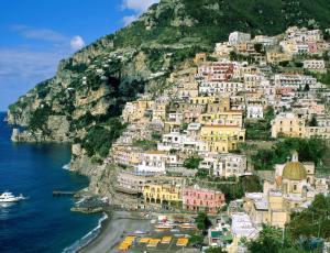 Курорт на побережье Италии