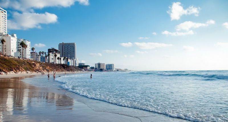 пляжный отдых в Израиле