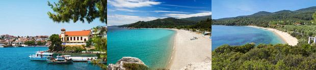 Отдых на полуострове Ситония в Греции